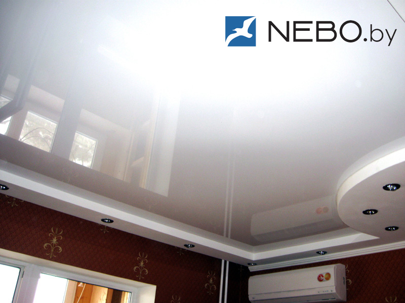 Потолок глянец фото
